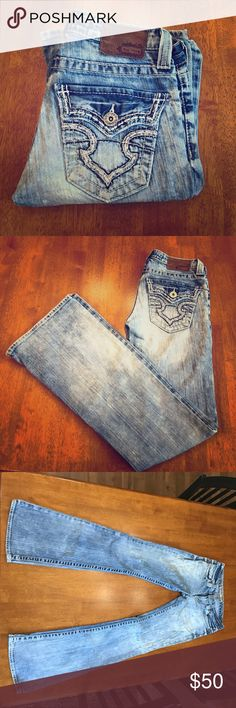 Big Star sweet ultra low rise 26L jeans Big Star sweet ultra low rise size 26L boot cut. Not much wear and I love them but they don't fit anymore.. Big Star Jeans Boot Cut