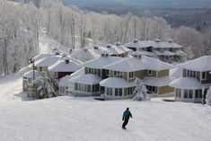 The resort's location on a small mountain makes it one of the most quiet and scenic vacation spots in the entire state of Michigan — and it has the views to prove it.