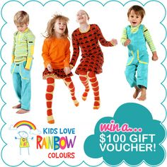 Kids Love Rainbow Colours Birthday Sale + Giveaway