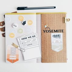 Traveler's Notebook layout for a trip