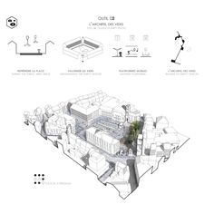 Architecture Graphics, Architecture Portfolio, Concept Architecture, Architecture Drawings, Landscape Architecture, Landscape Design, Architecture Design, Masterplan, Urban Design Concept