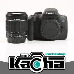 Canon EOS 750D Cámaras digitales + EF-S 18-55mm por 539,99 €  Gracias a la tecnológicamente avanzada #EOS 750D, podrás dar tus primeros pasos en el mundo de la #fotografía #réflex sin esfuerzo. Solo tienes que seleccionar el modo Escena Inteligente Automática y dejar que la cámara se encargue de los ajustes.   #chollos #camaras #compras #regalos