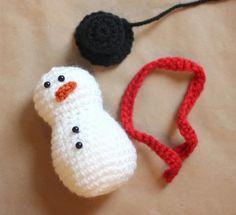Výsledok vyhľadávania obrázkov pre dopyt crochet snowman
