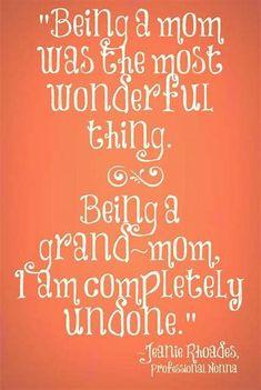 First Time Grandma, Grandma And Grandpa, Grandma Gifts, Quotes About Grandchildren, Grandkids Quotes, Grandmother Quotes, Grandma Sayings, Grandmothers Love, Thing 1