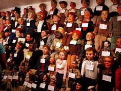 Museu de Marionetes Vent Haven – Fort Mitchell, Estados Unidos