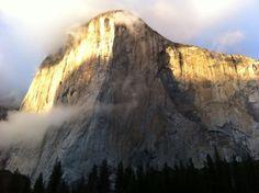 El Cap after a storm.