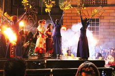 Samhuinn 2012 by Ali Smithies, via Flickr Fire Festival, Beltane, Pagan, Witches, Ali, Concert, Craft, Bruges, Creative Crafts