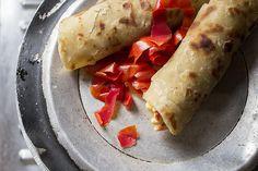 Ugandan Rolex - Street Food  rolex, tomato, chapati, uganda, food, african, africa