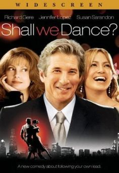 Shall We Dance? [Full Screen Ed] Richard Gere (Actor), Susan Sarandon (Actor), Jennifer Lopez (Actor) {note: based on the Original Japanese language version - Widely Distributed} - Format: DVD - Rated: NR Susan Sarandon, See Movie, Movie Tv, Movie List, Jennifer Lopez, Películas Hallmark, Yasmine Galenorn, Film Mythique, Romantic Movie Quotes