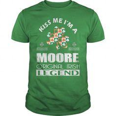 Awesome Tee KISS Moore ORIGINAL IRISH LEGEND T shirts