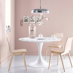 Luminaire Salle à manger. Ideas for the dining area. House Design, Dining Room Design, Decor, House Interior, Furniture, Home, Interior, Home Decor, Modern Dining Chairs