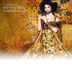 The Life Ball 2015 Brought Gustave Klimt Art To Life. And It's Breathtaking. conchita wurst as Adele Gustav Klimt, Klimt Art, Ellen Von Unwerth, Adele, Editorial Photography, Fine Art Photography, Tableaux Vivants, Glamour, Photo S