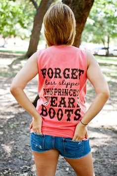 Monogrammed Tank with state Forget glass by SLTSouthernDesigns, $28.00