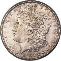 1893-S $1 MS61 ANACS