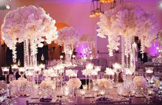 Stunning orchids & crystals