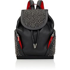 Christian Louboutin Men's Explorafunk Backpack (33 790 ZAR) ❤ liked on Polyvore featuring men's fashion, men's bags, men's backpacks, black and mens backpacks