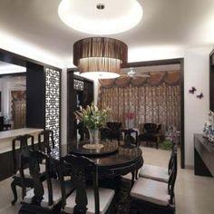 Image result for wooden asian chandelier