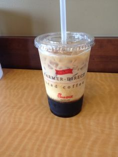 Cool off with a New Iced Coffee from Chick-fil-A  sustainably-sourced, farmer-direct, specialty-grade iced (and hot) coffee.
