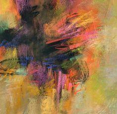 Delving Deep pastel by Debora L. Stewart