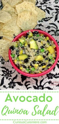 Have you ever wondered what is quinoa? We're explaining a little about this grain and sharing a recipe for a bright Mexican-inspired quinoa salad. What Is Quinoa, How To Cook Quinoa, Quinoa Avocado Salad, Perfect Salad Recipe, Bean Recipes, Soup Recipes, Slow Cooker Barbacoa, Light Soups, Healthy Granola Bars
