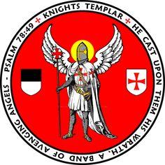 Knights Templar Angel Seal - William Marshal Store by williammarshalstore on DeviantArt Knights Hospitaller, Knights Templar, Crusader States, Kingdom Of Jerusalem, Old Paper Background, Crusader Knight, Military Orders, Holy Cross, Angel Of Death
