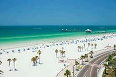 One of my fav places!!! Clear water Beach Florida!! ♥