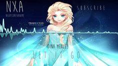 Nightcore - Let It Go | Idina Menzel (Frozen) {ĦƉ} Kind of awesome!!!!!!!!!!!!!!!!!!