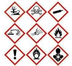 27 Best Ghs Chemical Labeling Images Label Templates
