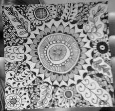 Zen Tangle by Bekah H
