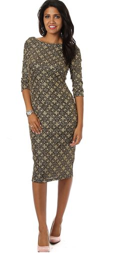 One Hottie Mama  - Shiny Star Scoop Back Midi Dress, $49.90 (http://stores.onehottiemama.com/shiny-star-scoop-back-midi-dress/)