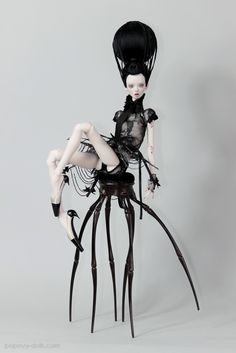 Popovy sisters new collection - black widow