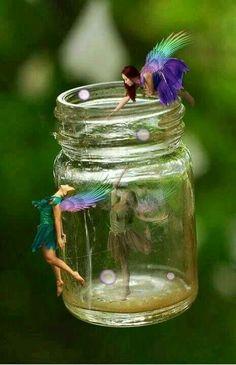 fairies gathering the fairy dust to create a lantern Fairy Dust, Fairy Land, Fairy Tales, Magical Creatures, Fantasy Creatures, Fantasy World, Fantasy Art, Kobold, Love Fairy