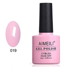 AIMEILI Soak Off UV LED Temperature Color Changing Chameleon Gel Nail Polish - Moonshine -- Check this awesome product by going to the link at the image. (This is an affiliate link) Nail Polish Cake, Neon Nail Polish, Gel Polish, Gel Nails, Gel Semi Permanent, Orange Stick, Born Pretty, Wedding Nails For Bride, Wedding Makeup