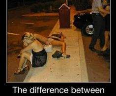The difference between drunk and F*#king DRUNK!
