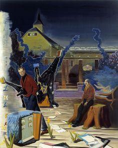 Neo Rauch - Haus des Lehrers (2003)