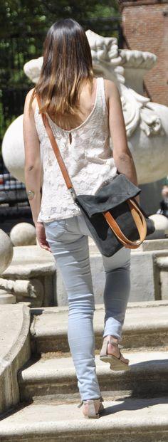 Sommer-Leder-Tasche Tasche Schultertasche Umhängetasche