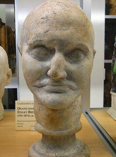 Death mask of Aaron Burr (1836)