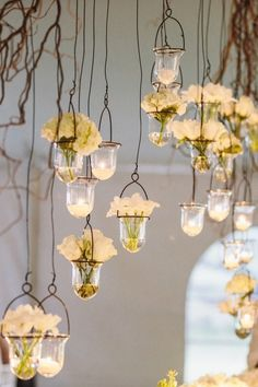 Hanging flowers and candles as wedding decorations Rustic Wedding, Our Wedding, Wedding Venues, Dream Wedding, Wedding Reception, Wedding Recessional, Recessional Songs, Wedding Aisles, Wedding Backdrops