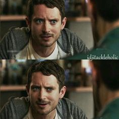 That face!   Elijah Wood as Todd Brotzman, Dirk Gently's Holistic Detective Agency