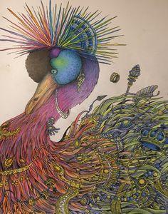 #imagimorohiacolouringbook #kerbyrosanes #colouringforadults