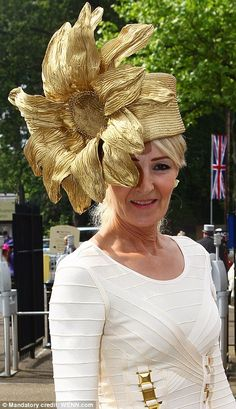 #Royal #Ascot #Hats  Royal Ascot.  Hat created by Eleda Hats, Leeds UK  www.eledahats.co.uk