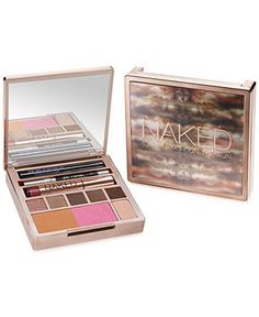 You never know when (or where) you'll have the urge to get Naked. The ultimate travel kit for Naked junkies, this limited-edition, all-in-one Naked palette comes loaded with everything you need for a complete Naked look. This palette is the one thing you need to easily create a complete Naked look on the run. (And let's not forget that every single shade inside is new!) Urban Decay obsessed over the lineup until it was just right, carefully crafting the perfect mix of neutrals for day and ni...