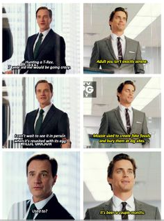 White Collar | Lol Peter and Neal