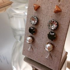 Sweet little accents to complement any look. #studs #stelladotstyle Stella & Dot