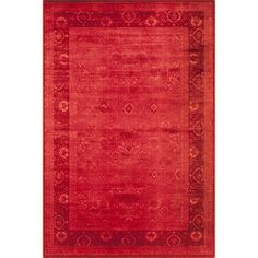 "Momeni Monterey Chateau Power Loomed Rug (1'8"" X 2'7"") (Red Rug), Size 1'8 x 2'7 (Synthetic, Oriental)"