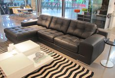 SOFAS FIORI LEATHER CHAISE LOUNGE Sofas, Lounge, Couch, Room, Leather, Movie, Furniture, Home Decor, Chair