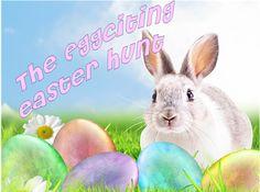 Eggciting Kids Home Easter Hunt - Instant Download