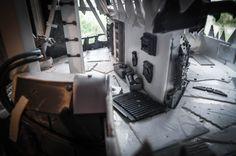 Space to move! - the main rooftop/platform area #ork #orks #warhammer #40k #40000 #plasticard #miniatures #freeboota #waaagh