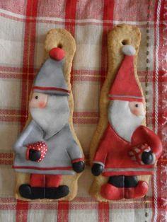 Christmas cookies Santa <3