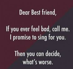 friendship quotes funny ~ friendship quotes & friendship quotes funny & friendship quotes meaningful & friendship quotes in hindi & friendship quotes inspirational & friendship quotes support & friendship quotes for boys & friendship quotes distance Besties Quotes, Cute Quotes, Girl Quotes, Happy Quotes, Bffs, Bff Quotes Funny, Funny Sayings, Bestfriends, Tomboy Quotes